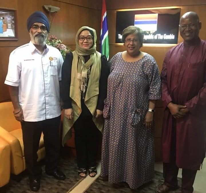 A promising collaboration with the Gambia