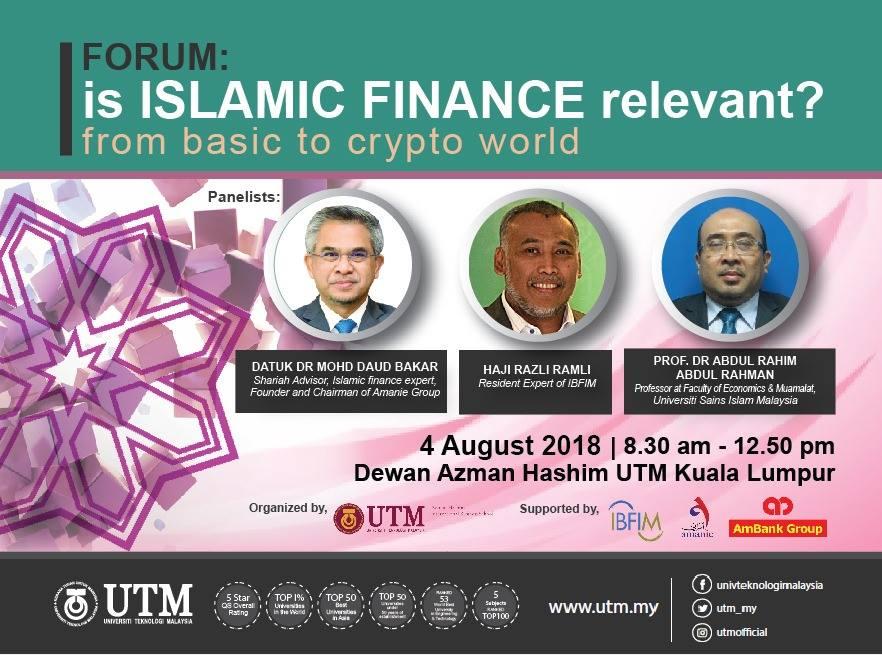 "ISLAMIC FINANCE FORUM ""FROM BASIC TO CRYPTO WORLD"""