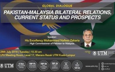 GLOBAL DIALOGUE – THE AMBASSADOR OF PAKISTAN