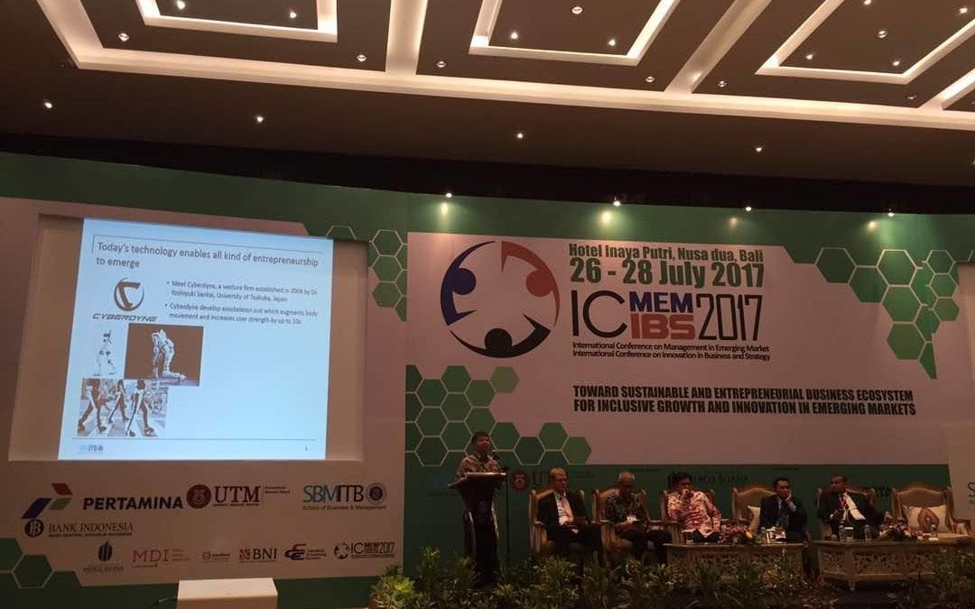 ICMEM-ICIBS CONFERENCE – JOINTLY ORGANIZED BY AHIBS AND INSTITUTE TECHNOLOGY BANDUNG (ITB), INDONESIA