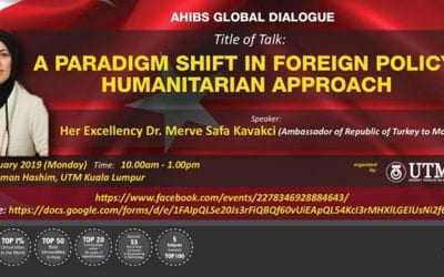 AHIBS Global Dialogue by Her Excellency The Ambassador of Turkey to Malaysia