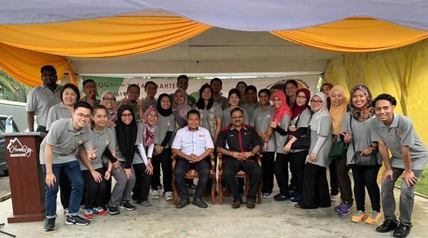 CSR at Sinaran Baru Village Hall, Kempas.