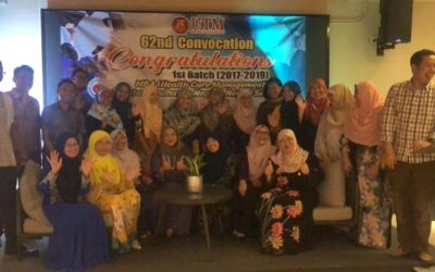 AHIBS first cohort of MBA Healthcare Management from Jabatan Kesihatan Negeri, Negeri Sembilan (Pre-convo celebration dinner)