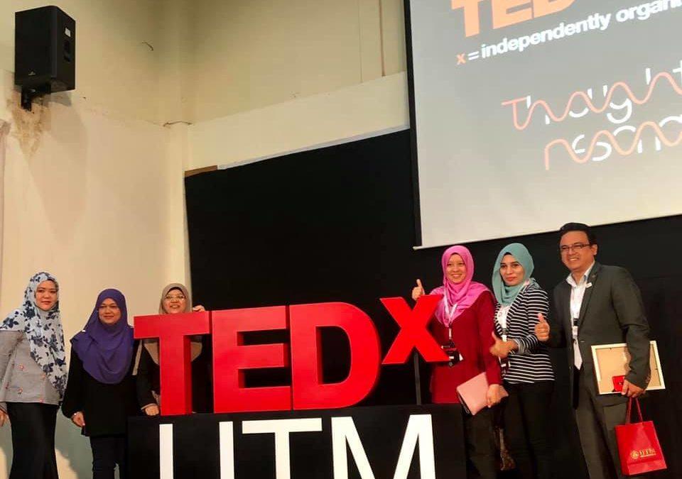 """TEDxUTM talk on """"Unusual Path Travelled"""""""