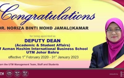 Congratulations Dr. Noriza Mohd Jamal