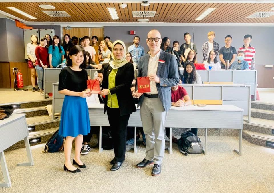 Invited Speaker for University of Reading Foundation Academic Enhancement Activity