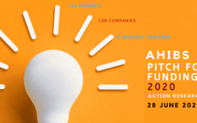 AHIBS MBA PITCH FOR FUNDING 2020 SPARKS SIGNIFICANT INDUSTRIAL COLLABORATIONS